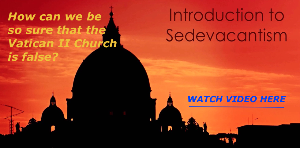 Introduction to Sedevacantism